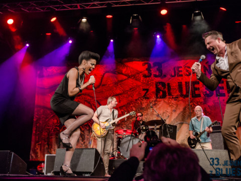Bonita & The Blues Shacks, 33. Jesień z Bluesem, fot. Tomasz Pienicki