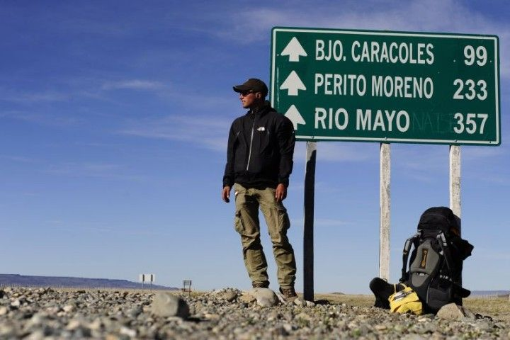 South America – close to the highway