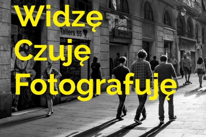 The opening of the exhibition I can see – I feel – I take photographs